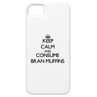 Keep calm and consume Bran Muffins iPhone 5 Cases