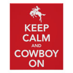 Keep Calm and Cowboy On