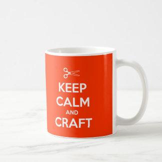 Keep Calm and Craft On - Mug