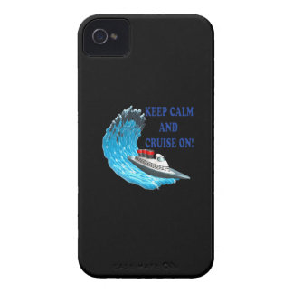 Keep Calm And Cruise On iPhone 4 Case-Mate Cases
