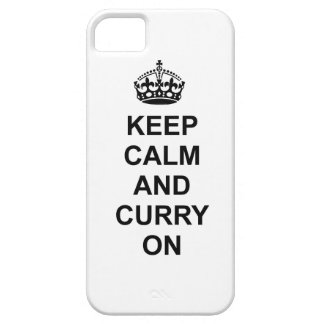 Keep calm and Curry On phone case