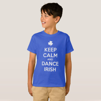KEEP CALM and DANCE IRISH T-Shirt