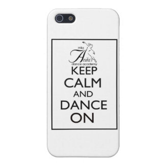 Keep Calm and Dance On iPhone 5/5S Covers