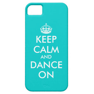 Keep Calm and dance on iPhone case | Customizable