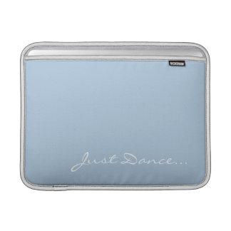 Keep Calm and Dance On Light Blue MacBook Sleeves