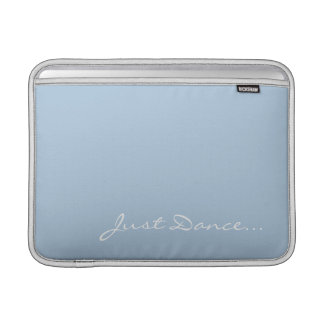 Keep Calm and Dance On Light Blue Sleeve For MacBook Air
