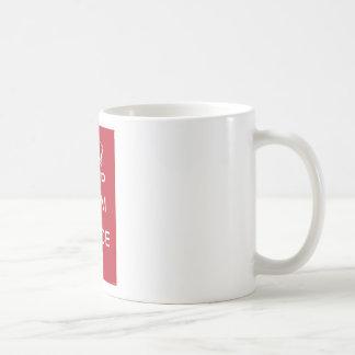 Keep Calm and Dance On Red Mugs