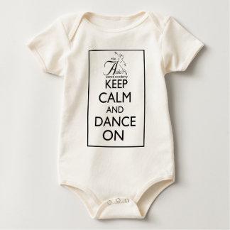 Keep Calm and Dance On Bodysuits
