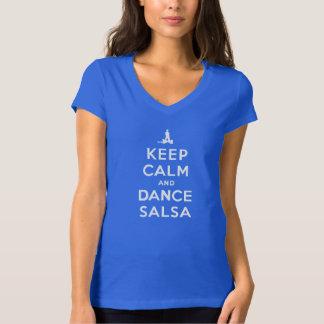 Keep Calm and Dance Salsa T-Shirt