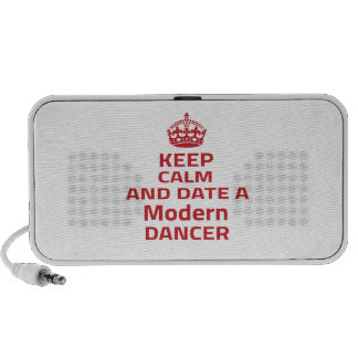 Keep calm and date a Modern dancer PC Speakers