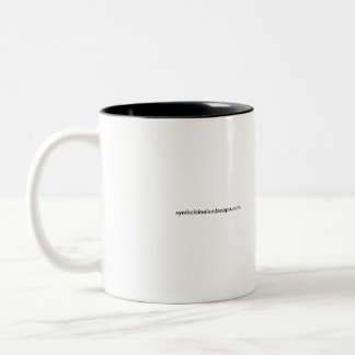 Keep Calm And Dig A Test Pit Two-Tone Coffee Mug