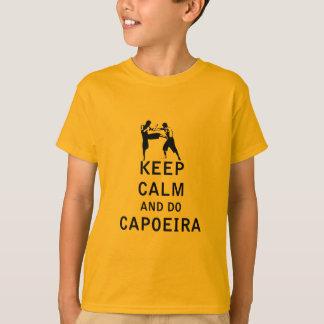 Keep Calm and Do Capoeira T-Shirt