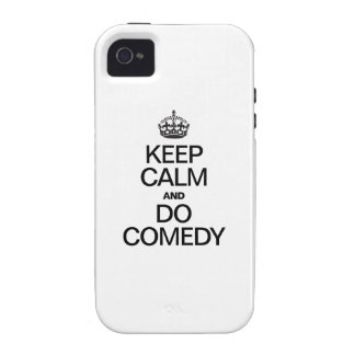 KEEP CALM AND DO COMEDY iPhone 4/4S CASE