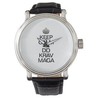 KEEP CALM AND DO KRAV MAGA WATCH