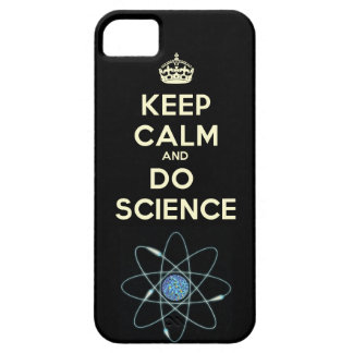 Keep Calm and Do Science iPhone Case