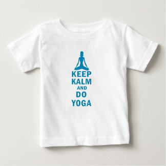 keep calm and do yoga baby T-Shirt