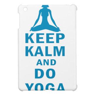 keep calm and do yoga iPad mini covers