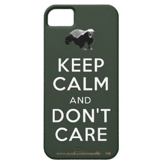 Keep Calm and Don t Care iPhone 5 Covers