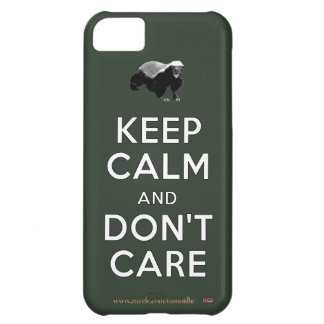 Keep Calm and Don t Care Case For iPhone 5C