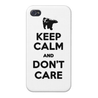 keep calm and dont care honey badger phone case iPhone 4/4S covers