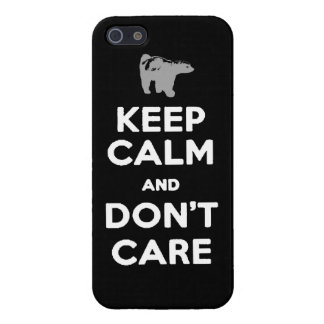 keep calm and dont care honey badger phone case iPhone 5/5S covers