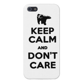 keep calm and dont care honey badger phone case case for iPhone 5