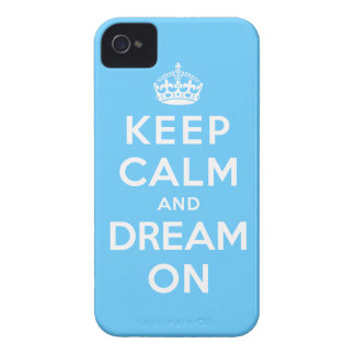 Keep Calm and Dream On iPhone 4 Covers