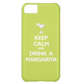 Keep Calm and Drink A Margarita (citrus) iPhone 5C Case