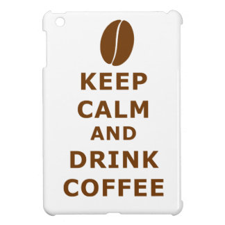KEEP CALM AND DRINK COFFEE CASE FOR THE iPad MINI