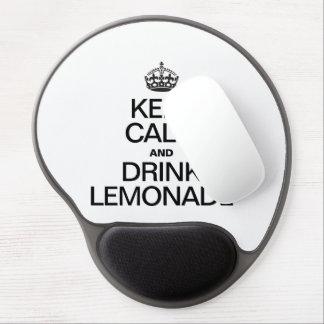 KEEP CALM AND DRINK LEMONADE GEL MOUSE MATS