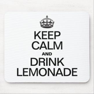 KEEP CALM AND DRINK LEMONADE MOUSEPAD