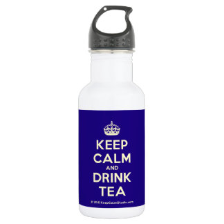 Keep Calm and Drink Tea 532 Ml Water Bottle