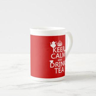 Keep Calm and Drink Tea - All Colors Tea Cup