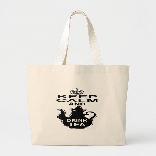 Keep Calm and Drink Tea Bags