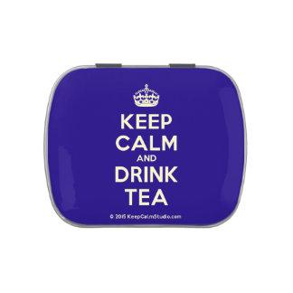 Keep Calm and Drink Tea Candy Tin