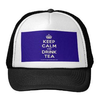 Keep Calm and Drink Tea Cap