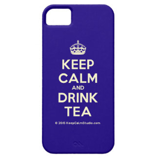 Keep Calm and Drink Tea Case For The iPhone 5