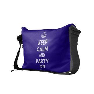 Keep Calm and Drink Tea Commuter Bag
