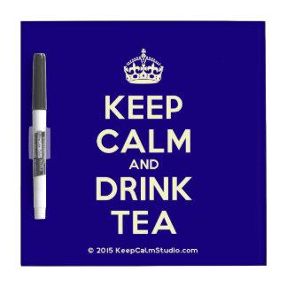 Keep Calm and Drink Tea Dry Erase Board