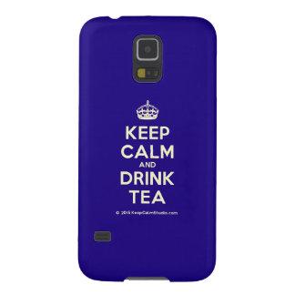 Keep Calm and Drink Tea Galaxy S5 Case
