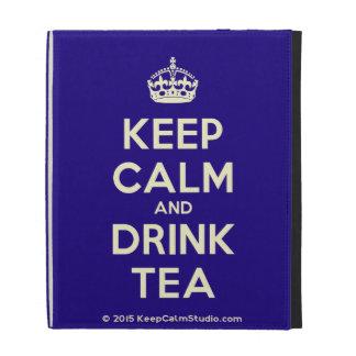 Keep Calm and Drink Tea iPad Case