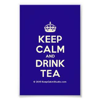 Keep Calm and Drink Tea Photograph