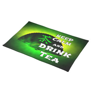 keep calm and drink tea placemat