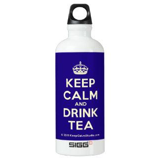 Keep Calm and Drink Tea SIGG Traveller 0.6L Water Bottle