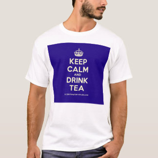 Keep Calm and Drink Tea T-Shirt