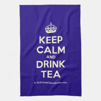 Keep Calm and Drink Tea Tea Towel