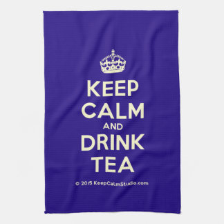 Keep Calm and Drink Tea Towel