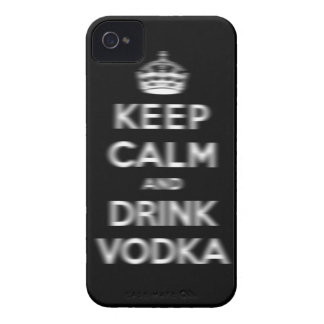 Keep calm and drink vodka iPhone 4 Case-Mate case