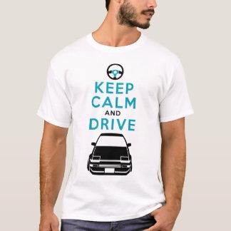 Keep Calm and Drive -AE86- /version3 T-Shirt