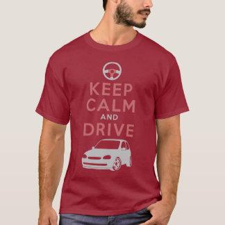 Keep Calm and Drive -Corsa- /version5 T-Shirt